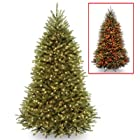 Dunhill Fir Pre-Lit Christmas Tree with Color-Changing Technology