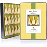 Tea Forte Large Tin Sampler Collection - Fifteen Silken Pyramid Infuser