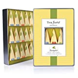 * NEW * Tea Forte Large Tin Sampler Collection - Fifteen Silken Pyramid Infuser
