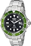 Invicta Men's Steel Case Automatic Black Dial Date Analog Watch 3047