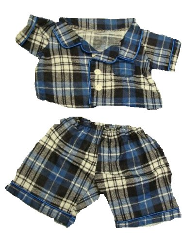 Flannel PJ's Clothes Outfit Fit 14