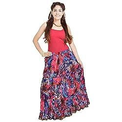 Prateek Retail Fashionable Ethnic Cotton Long Skirt