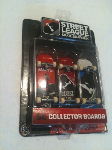 Street League Skateboarding Collector Boards 3 Pack