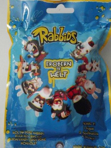 """Rabbids - Invade the World / Erobern die Welt - Blind Bag Assortment - Rabbids approx 2.75"""" tall - Single Bag"""