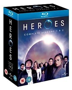 Heroes - Season 1-2 - Complete [Blu-ray] [Region Free]
