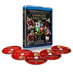 The British & Irish Lions 2013: The Complete Collection (5-Disc) [Blu-ray]