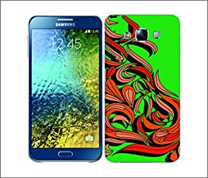 Galaxy Printed 2363 Mehndi River Hard Cover for Samsung GRAND I9082