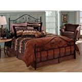 51%2BXIgmTo8L. SL160  Hillsdale Furniture 1403BQR Harrison Bed Set with Rails, Queen, Texture Black Reviews