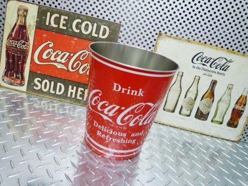 コカ・コーラ ダストボックス/ゴミ箱/バケツ コカコーラグッズ ブランド coca-cola