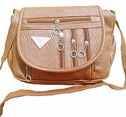 Rapidcostore Women's Sling Bag Brown RC-0551