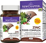 New Chapter Zinc Food Complex, 60 Tablets