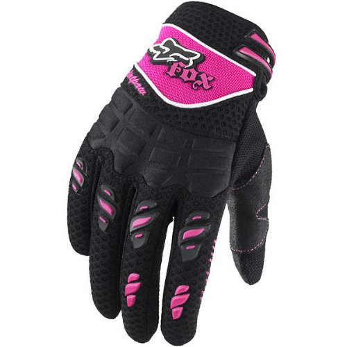 Fox Racing Dirtpaw Youth Girls MX/Off-Road/Dirt Bike Motorcycle Gloves - Color: Black/Pink, Size: Small