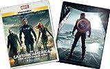 キャプテン・アメリカ/ウィンター・ソルジャーMovieNEXプラス3Dスチールブック:オンライン予約数量限定商品 [ブルーレイ3D+ブルーレイ+DVD+デジタルコピー(クラウド対応)+MovieNEXワールド] [Blu-ray]