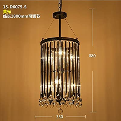 American iron retro style cloakrooms entrance hallway dining room bedroom lamps crystal chandeliers