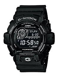 Casio G-Shock Men's Solar Digital Watch with Resin Strap
