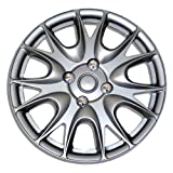 TuningPros WSC-533S15 Hubcaps Wheel Skin Cover 15-Inches Silver Set of 4