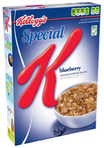 Special K Cereal, Blueberry, 11.4-Ounce Boxes (Pack of 4)