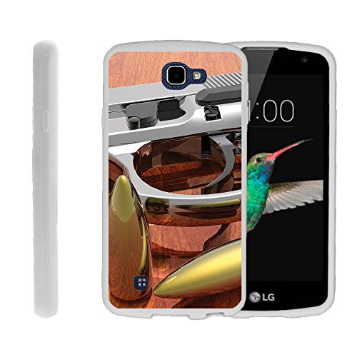 Case for LG Optimus Zone 3 | LG Spree | K4, Slim Glove like Skin with American Gun Collection | by Miniturtle® - Gun and Ammo
