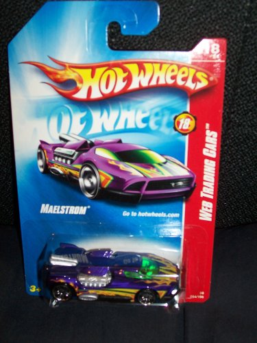 2008 Hot Wheels Web Trading Cars Purple Maelstrom w/ PR5s #094 (18 of 24) - 1