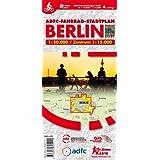 ADFC Fahrrad-Stadtplan Berlin: Fahrradstadtplan, 4. Auflg. M 1:30.000 Zentrum 1: 15.000