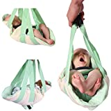 SWADDLE SWING; The Portable Baby Swing, A Baby Swaddle and Baby Swing Combined, The Best Baby Swing for Travel, A Baby Swing That Doubles As a Swaddle Blanket, Combines the benefits of a swaddling blanket with baby swings, The Perfect Baby Shower Gift, Baby Shower Registry Favorite