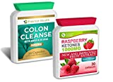 Raspberry Ketone PURE 1000mg + Colon Cleanse ALOE VERA - Lose Up To 4.5 Kilos In 4 Weeks ! * NEW FORMULA * 1000mg Super Strong Slimming Diet Pills AMAZING Fat Burner ! Lose Weight and Slim Fast ! 30 Tablet Raspberry Keton + 30 Pill of Colon Cleanser With ALOE VERA - FREE UK DELIVERY + FREE DIET PLAN With Every Order !