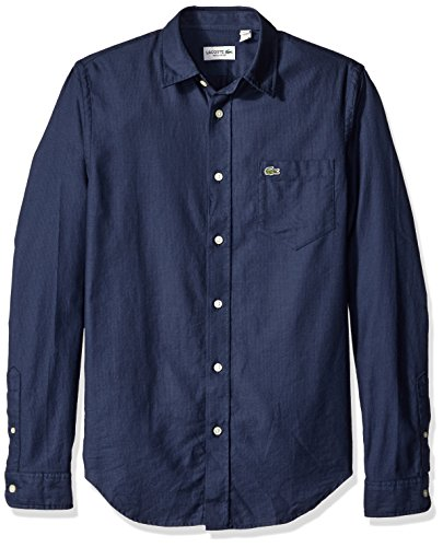lacoste-mens-long-sleeve-pique-jacquard-pattern-woven-shirt-philippines-blue-navy-44