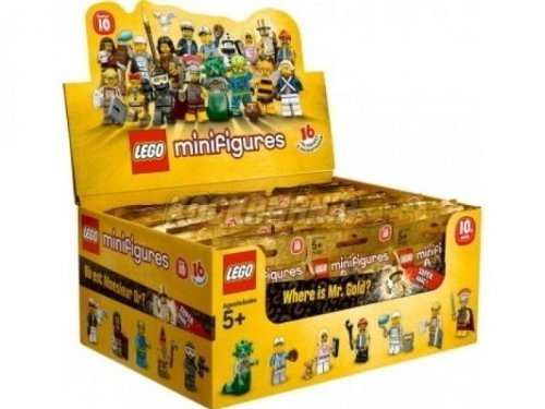 LEGO-Minifigure-Collection-Series-10-71001-Sealed-Case-of-60-Mystery-Packs