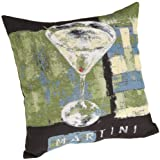 Brentwood 18-Inch Fine Art Tapestry, Martini