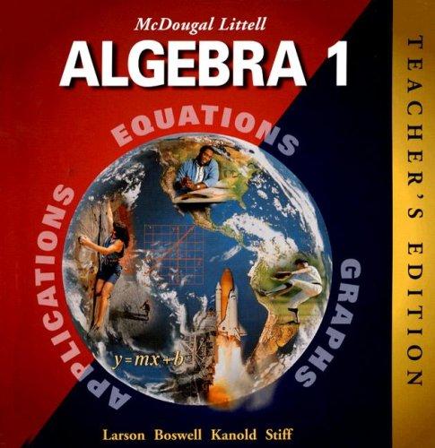 Homework Help Mcdougal Littell Algebra 1