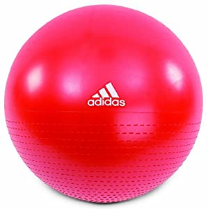 Adidas Core Gym Ball - Red, 65cm