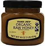 Trader Joe's Organic Raw Honey 16 Ounce