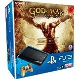 PlayStation 3 - Konsole Super Slim 500 GB (inkl. DualShock 3 Wireless Controller + God of War Ascension