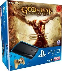 Console ps3 super slim 500 gb god of war ascension for God of war 3 jardines superiores