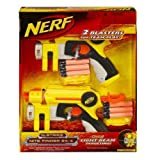 2 Blasters Pack Nerf N-Strike Nite Finder EX-3