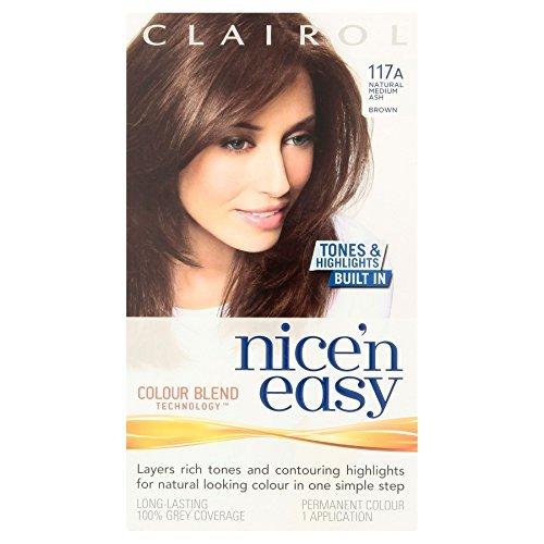 3-x-clairol-nicen-easy-permanent-hair-colour-natural-medium-ash-brown-117a