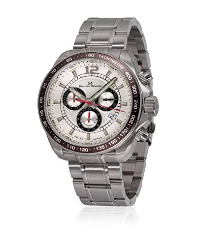 PHILIPPE VANDIER Reloj con movimiento cuarzo suizo 77001  42 mm