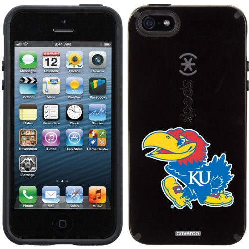 Great Price University of Kansas Mascot design on a Black iPhone 5s / 5 CandyShell Case by Speck
