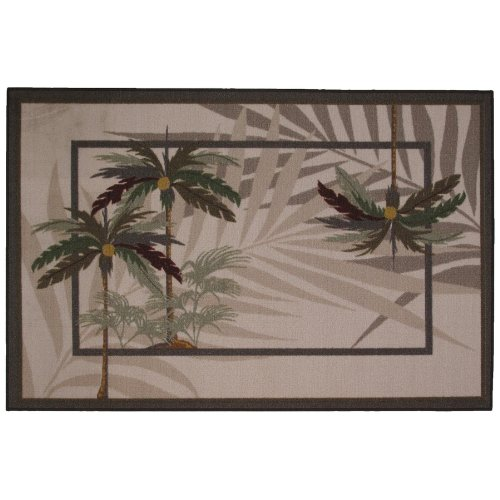 Palm Trees Area Rug 5' 3