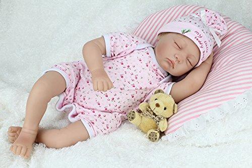 Vif Réaliste qui semble vivant Garçon Fille Jouet 22 pouces 55cm Bouche Magnétique Reborn Baby Doll Réincarné bébé Poupée Doux Simulation Silicone Vinyle Fille Toys Gift