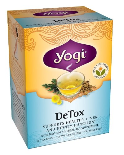 Yogi Detox Tea, 16 Tea Bags (Pack Of 6)