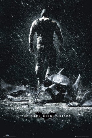 Dark Knight Rises Bane Movie Poster Print