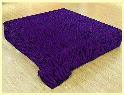 Purple Plush Blanket front-994287