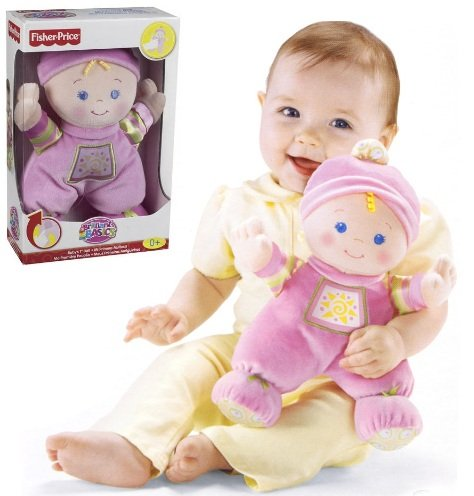FISHER PRICE BABY'S MY FIRST SOFT DOLL 25cm 0m+