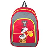 Unisex Children Animals Design Travel Gadget Play Backpack Fits Impecca Portable DVD Players