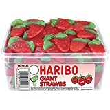 Haribo Giant Stawbs (120 pieces)