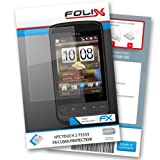 FoliX FX CLEAR screen protector for HTC Touch2    Ultra clear screen protection! handhelds pdas 