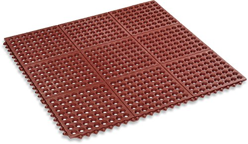 Kempf Rubber Anti Fatigue Drainage Mat Interlocking For