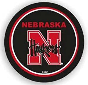 Nebraska Huskers Black Spare Tire Cover