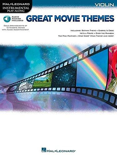 Instrumental Play-Along: Great Movie Themes - Violin